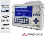 DVB-T2 Testing with the New Promax TV EXPLORER HD+ Analyzer