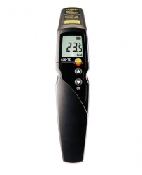 testo 830-T2 - Infrared thermometer with 2-point laser marking (12:1 optics)